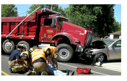 Injured in a truck accident in Vancouver WA