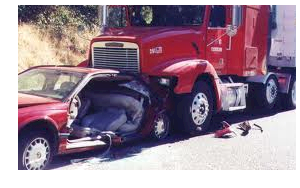 Truck rear-ended Car Accident Injury Lawyer